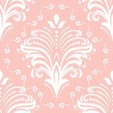 Modèle sans couture fin floral Image libre de droits
