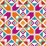 Modèle sans couture géométrique Photos stock