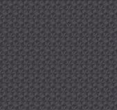 Modèle sans couture gris-foncé d'illusion de la texture 3d Photos stock