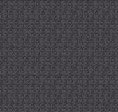 Modèle sans couture gris-foncé d'illusion de la texture 3d Image libre de droits