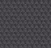 Modèle sans couture gris-foncé d'illusion de la texture 3d V Image stock