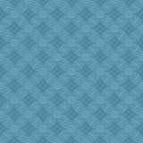 Modèle sans couture neutre de Knotwork de Celtic Image stock