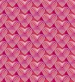 Modèle sans couture rose de vecteur Images stock
