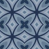 Modèle tricoté sans couture de tissu Image libre de droits