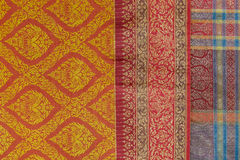 Modèle unique de vêtements au festival culturel annuel de Lumpini Images stock