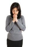 modlenia kobiety potomstwa Obrazy Royalty Free