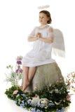 Modlenie anioł Zdjęcia Stock
