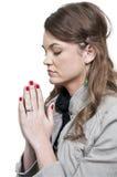 modlenie kobieta Zdjęcia Royalty Free