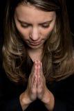 modlenie kobieta Obrazy Royalty Free