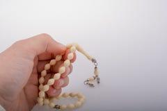Modlenie koraliki pewny kolor obraz royalty free