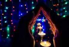 Modlić się ręki obraz stock