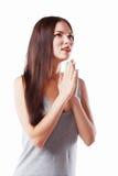 modli się kobiety obraz royalty free
