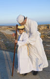 modli się samaritan shavuot Zdjęcia Stock