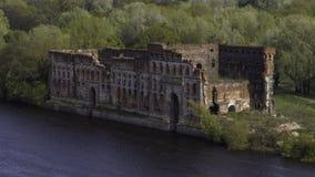 Modlin fästning nära Warszawa Arkivbild