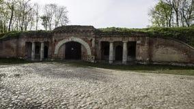 Modlin fästning nära Warszawa Royaltyfri Fotografi