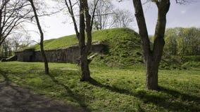 Modlin-Festung nahe Warschau Stockbild
