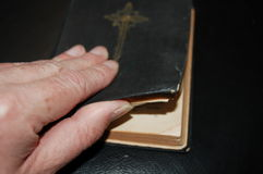 Modlitewna książka Obraz Stock