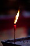 Modlitewna świeczka Zdjęcie Stock
