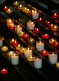 Modlitewne świeczki Obrazy Stock