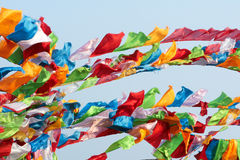 Modlitewne flaga Obrazy Stock