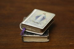 Modlitewne książki antykwarskie Obraz Stock
