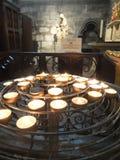 Modlitewne świeczki Obraz Royalty Free