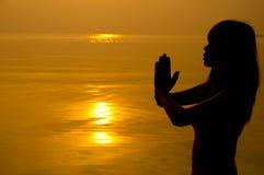Modlitwa Fotografia Stock