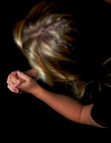modlitwa młode kobiety Fotografia Stock