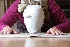 modlitwa muzułmańska Zdjęcia Stock