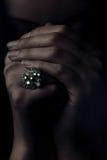 modlitwa pierścionek Obraz Royalty Free