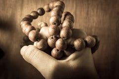 Modlitwa z kolią. obrazy stock