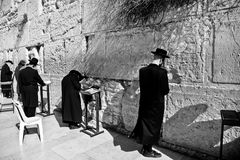 Modlitwy w Jerozolima obrazy royalty free