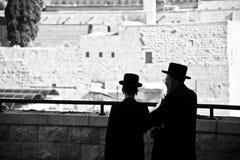 Modlitwy w Jerozolima fotografia royalty free