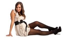 modna dziewczyna Zdjęcia Stock