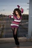 modna kobieta Zdjęcia Stock
