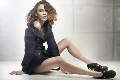 modna kobieta Zdjęcie Stock