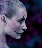 Modna żywy trup dziewczyna Obrazy Royalty Free