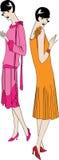 modne dziewczyny ilustracja wektor