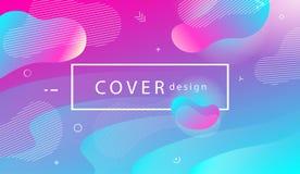 Modne pokrywy lub tła dla plakata, plakat, magazyn, broc Fotografia Stock