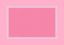 Modnego ram menchii koloru mieszkania nieatutowy styl i prostok?t dla kopii przestrzeni, pusta ramy menchia dla sztandaru projekt royalty ilustracja