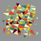 Modnego rocznika modnisia geometryczni elementy. ilustracji