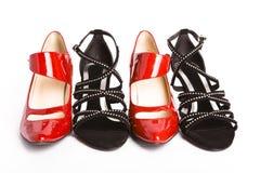 modni żeńscy nowi buty Obrazy Royalty Free