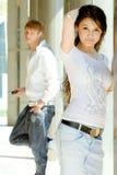 modni nastolatkowie dwa Fotografia Royalty Free