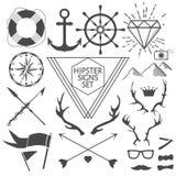 Modnisiów symbole i Obraz Stock