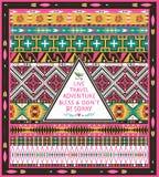 Modnisia bezszwowy plemienny wzór z geometrycznymi elementami Obrazy Stock