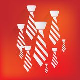 Modnisia krawata ikona Obraz Royalty Free