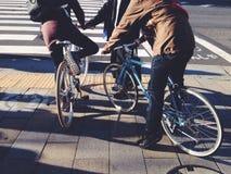 Modnisia rower Zdjęcie Royalty Free