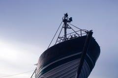 Modnisia stylowy wizerunek stary statek zdjęcia royalty free