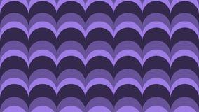 Modny łęk w cieniach pozafioletowi kolory ilustracja wektor