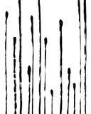 Modny Abstrakcjonistyczny Wewnętrzny plakat z Stipes Brudny Dekoracyjny projekt royalty ilustracja